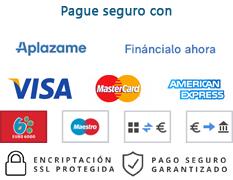 Pago seguro en IBERANDAMIOS.COM
